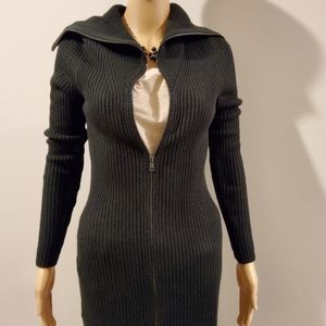 Ann Taylor Long Ribbed Sweater
